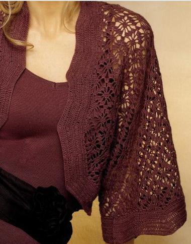 Выкройка вязаной одежды