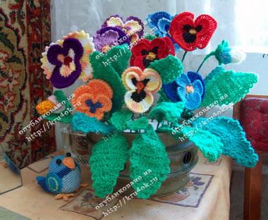 Махровые хризантемы