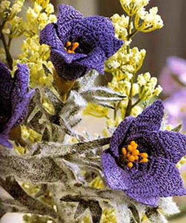 Чтобы цветы выглядели более естественно