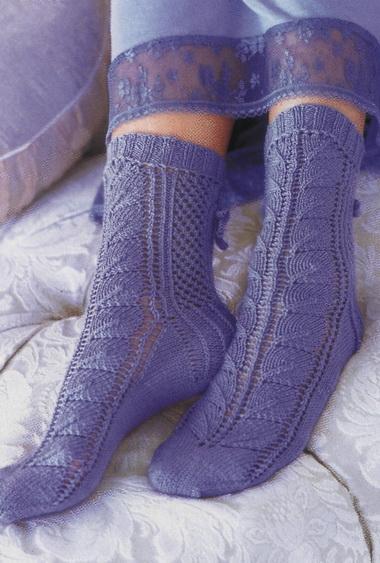 Вязаные носки - путь к успеху