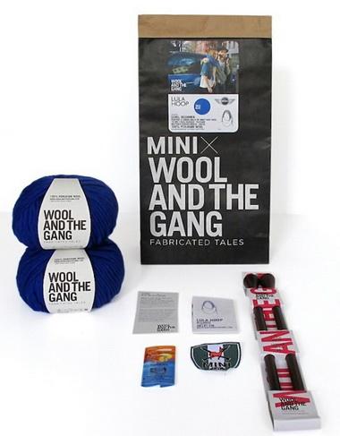 Набор для вязания шарфа MINI и Wool and the Gang уже в продаже